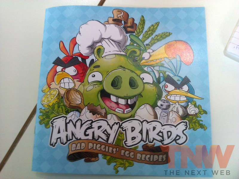 Puffies Popovers? Gallic Garlic? A first look at the Angry Birds Cookbook