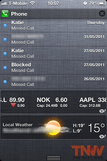 tnw1 iOS 5 First Look: Setup, iMessage and Notification Center walkthrough