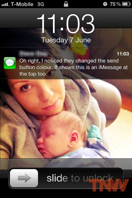 tnw3 iOS 5 First Look: Setup, iMessage and Notification Center walkthrough