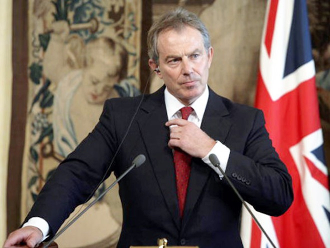 Tony Blair's personal contacts book leaked by LulzSec rival TeaMp0ison