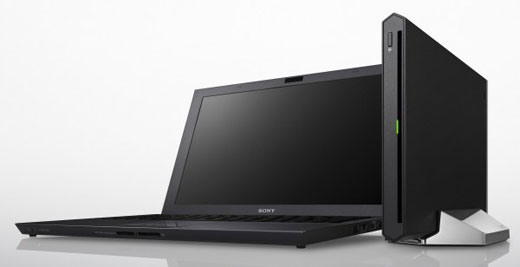 vaioz Sonys new 13 inch VAIO Z ultramobile uses Thunderbolt to bring the power