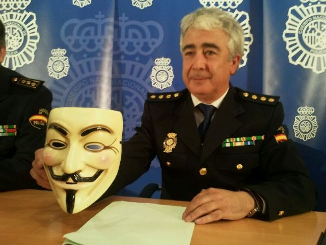 Spanish police arrest suspected Anonymous members accused of
