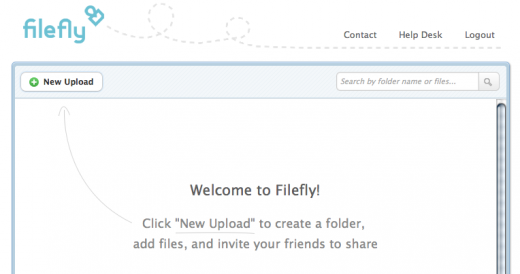 0n 520x274 filefly brings dead simple file sharing to Facebook