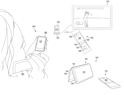 2 520x400 New Microsoft patent details dual screen smartphone