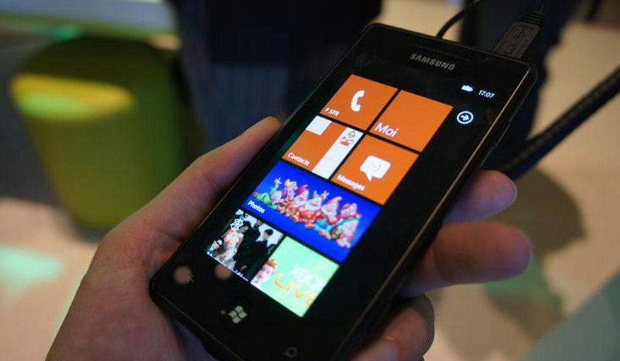 The first WP7 handset running Mango set to land in August