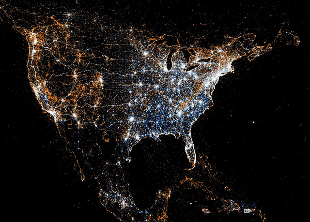 Stunning: Mapping the world with Twitter and Flickr