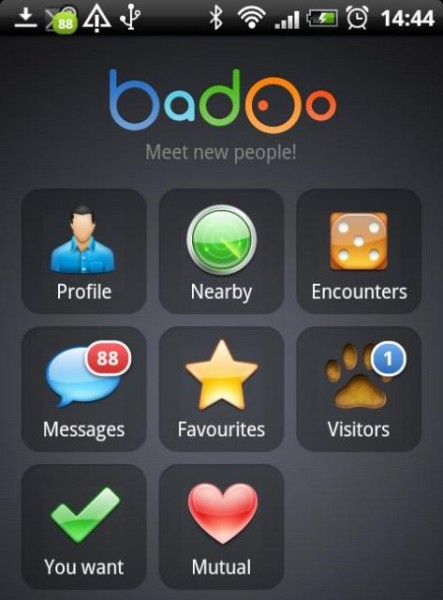 AndroidApp1 443x600 Badoo doubles up, and the social network has the world in its sights