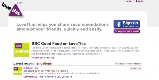 BBC 520x261 LoveThis: get recommendations from people you trust