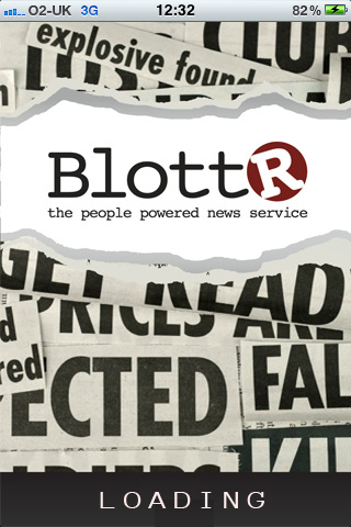 Blottr1 Blottr launches smartphone apps to mobilize citizen journalists across the UK