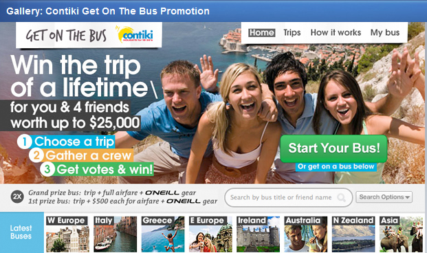 Contiki 10 Facebook campaigns to inspire your business