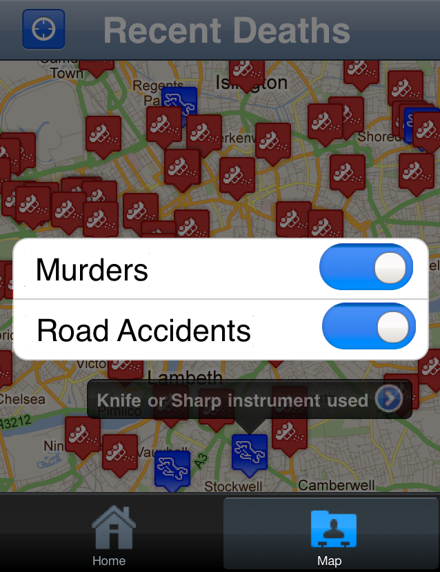 DeathApp5 The Death App reveals murders and road fatalities across the UK