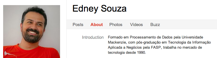 Edney Souza 8 Latin American Entrepreneurs To Circle on Google+