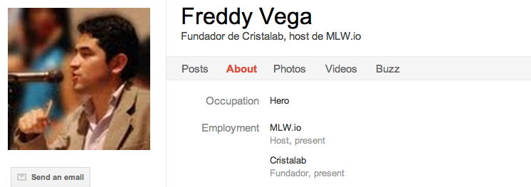 Freddy Vega 8 Latin American Entrepreneurs To Circle on Google+