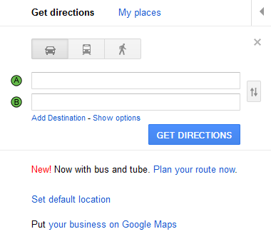 Google Maps 13118408949491 Google Maps now gives public transport directions in London