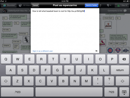 IMG 0039 520x390 The iPad was made for StumbleUpon, now it has the app to prove it