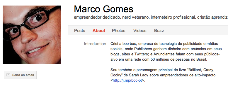 Marco Gomes 8 Latin American Entrepreneurs To Circle on Google+
