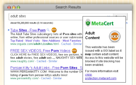 MetaCert .XXX websites to adopt content and safety warning system