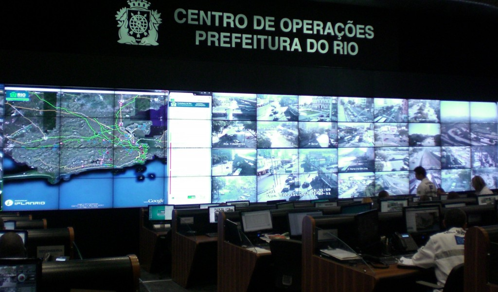 RioOperationsCenter 1024x601 How Data is Making Rio de Janeiro a Smarter City