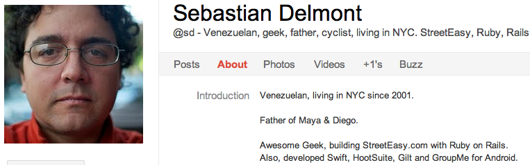 S Delmont 8 Latin American Entrepreneurs To Circle on Google+