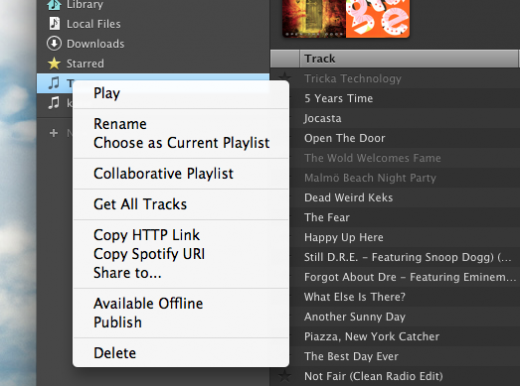 Screen Shot 2011 07 14 at 09.31.16 520x386 Spotify: A Beginners Guide