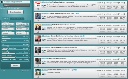 Screen Shot 2011 07 29 at 11.19.15 520x322 Get serious stats about your Twitter community with Social Bro