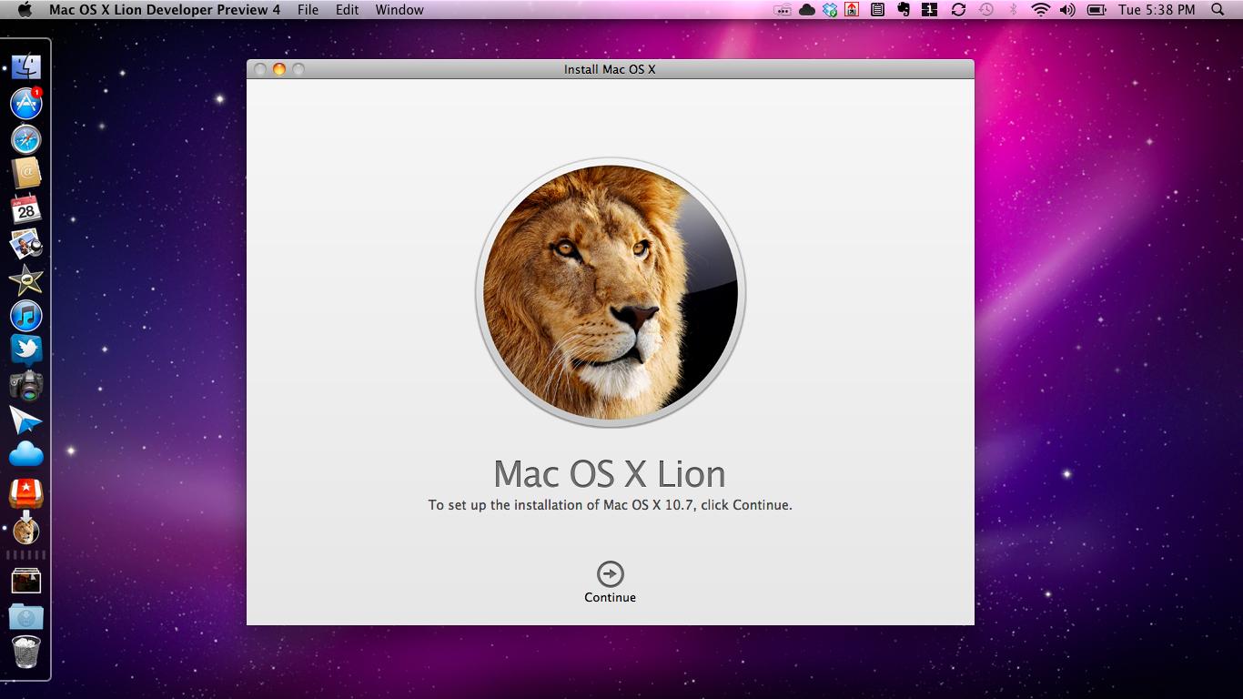 Apple OS X Lion Review TNW