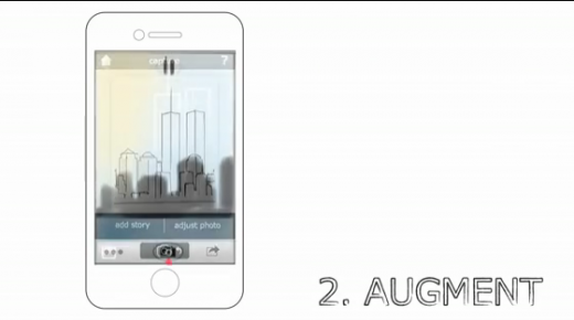 Screen shot 2011 07 29 at 10.47.51 AM 520x290 An augmented reality app lets you experience the Twin Towers
