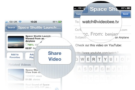 ShareVideo VideoBee: A centralized viewing hub for all your online video