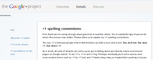 Spelling conventions 500x199 The Google+ guide for punctuation pedants