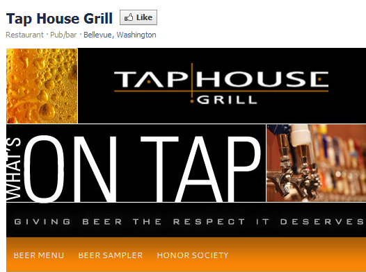 Tap House Grill 1311194811675 10 Facebook campaigns to inspire your business