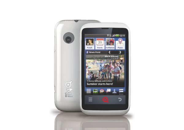 WHITE FRONT BACK UK Telus and Koodo bring Facebook Phone to Canada