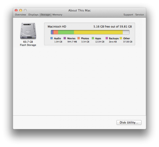 about this mac storage 520x483 TNW Review: OS X Lion