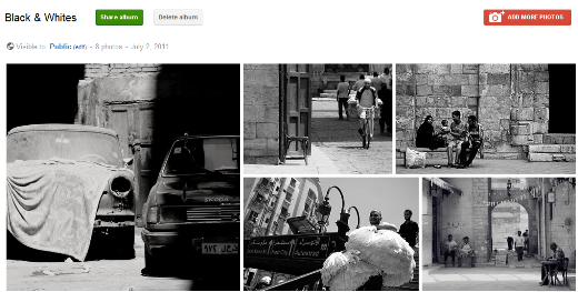 album How to turn Google+ into an online photography portfolio