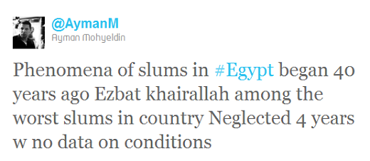 aymanm Egyptians use Twitter to raise over $200,000 in 1 week