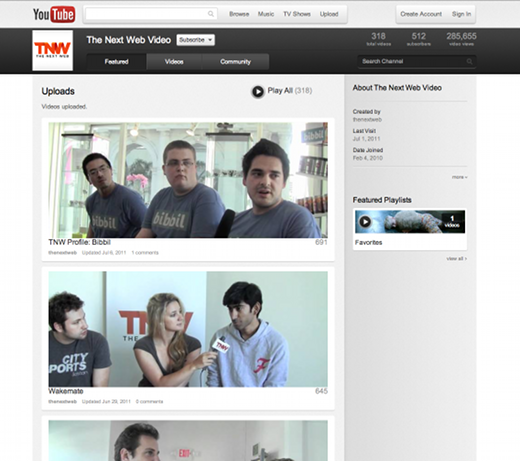 channel YouTubes got a great new look, and you can try it NOW