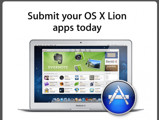 dalionappzyo 520x393 Mac App Store now open for OS X Lion app submissions