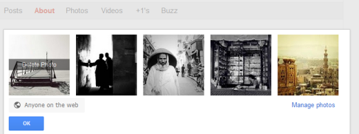 delete How to turn Google+ into an online photography portfolio