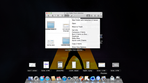 expose double tap previous files 520x292 TNW Review: OS X Lion