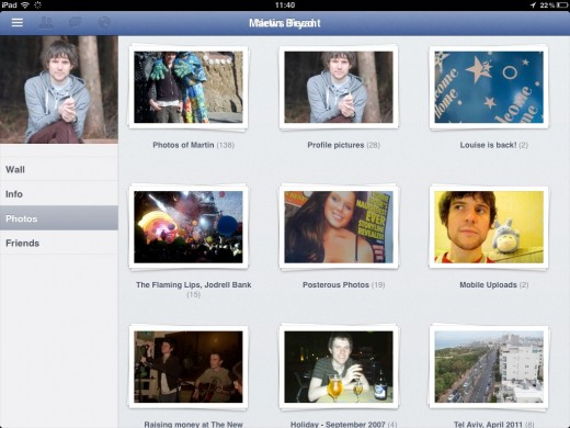 facebook ipad 2 520x390 How to access the secret Facebook iPad app [Update]