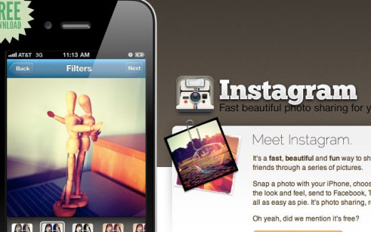 instagram 520x325 The Rise Of The Mobile Social Network