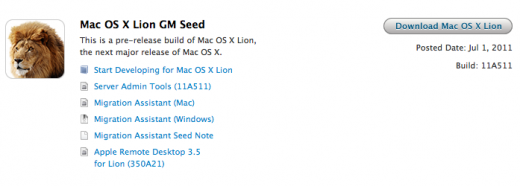 lon 520x186 Mac OS X Lion Gold Master seeded to developers