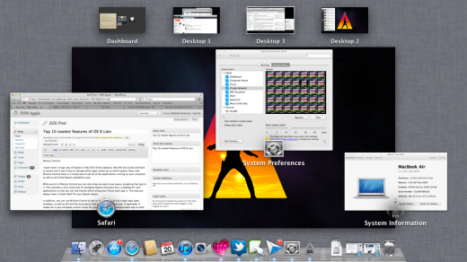 mission 520x292 Top 10 coolest features of OS X Lion