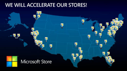 msstore 520x291 Microsoft set to launch 75 new stores
