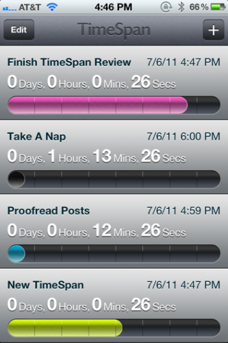 photo 11 333x500 TimeSpan for iPhone is a beautiful way to count down to milestones