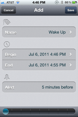 photo 21 TimeSpan for iPhone is a beautiful way to count down to milestones