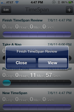 photo 31 TimeSpan for iPhone is a beautiful way to count down to milestones