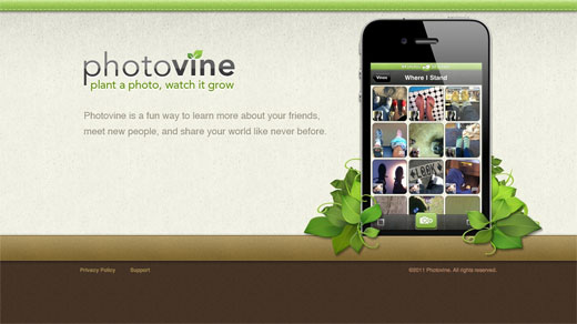 Google's mysterious Photovine website is live, and it looks like a social photo-sharing service ...
