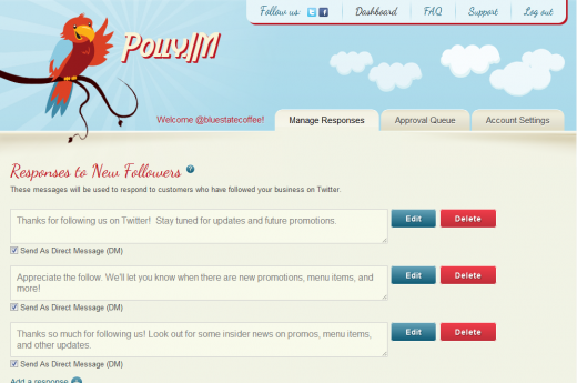 polly2 520x345 Polly.IM helps businesses engage with customers on Twitter
