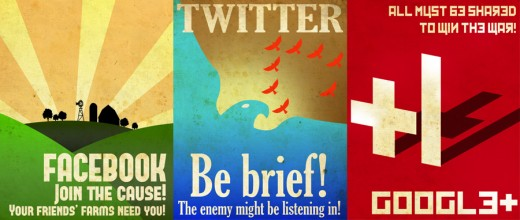 propposters 520x220 These social network propaganda posters are awesome