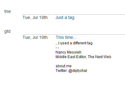 tags In depth with FollowUp.cc: Reminders, calendar and task list in one